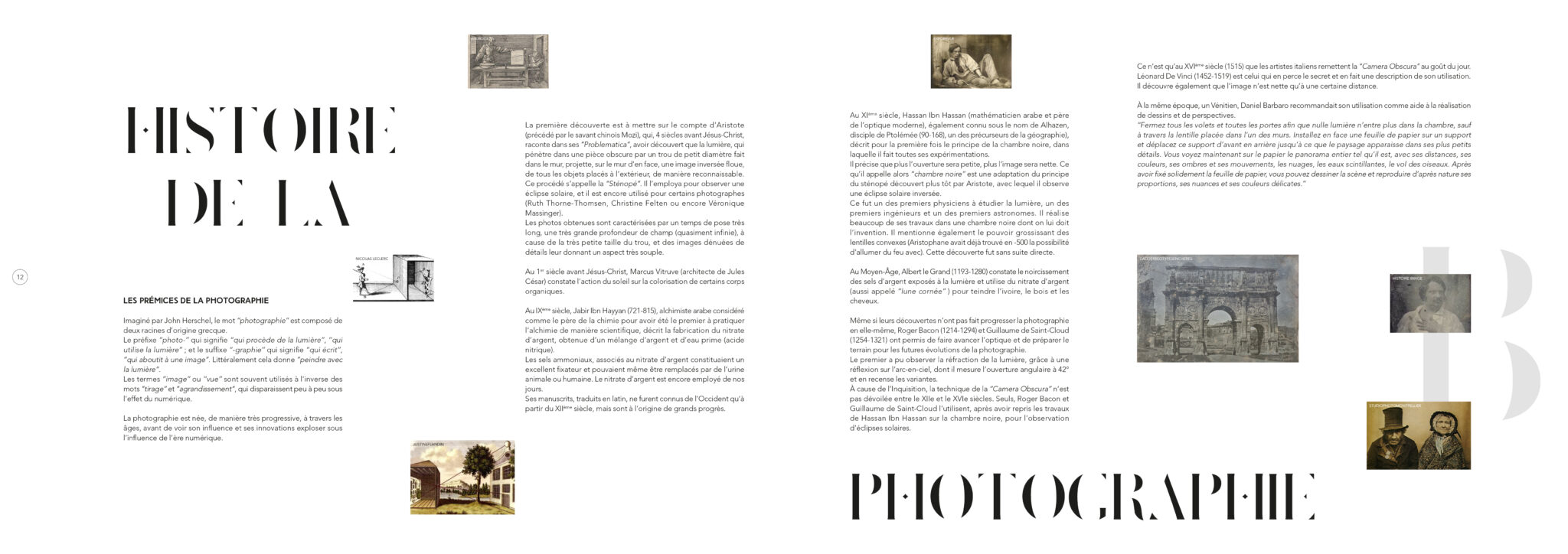 Pages 12 et 13.