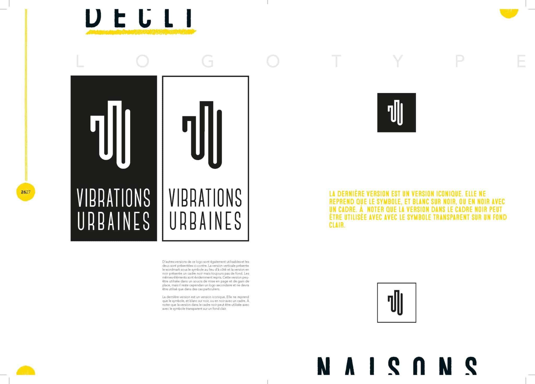 Présentation du nouveau logo des Vibrations Urbaines.