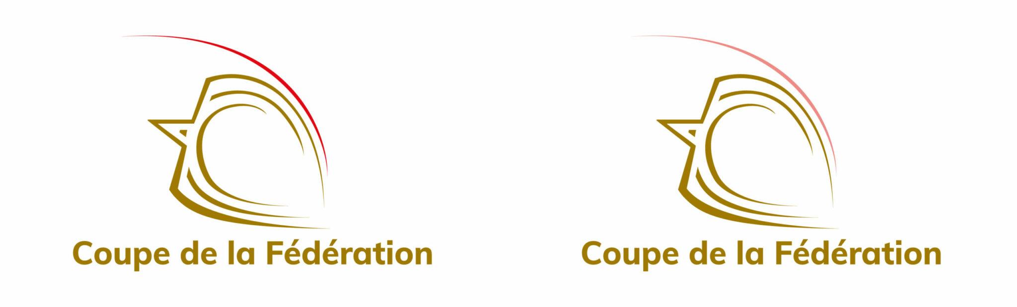 Déclinaison du logo Open de France pour la Coupe de la Fédération.