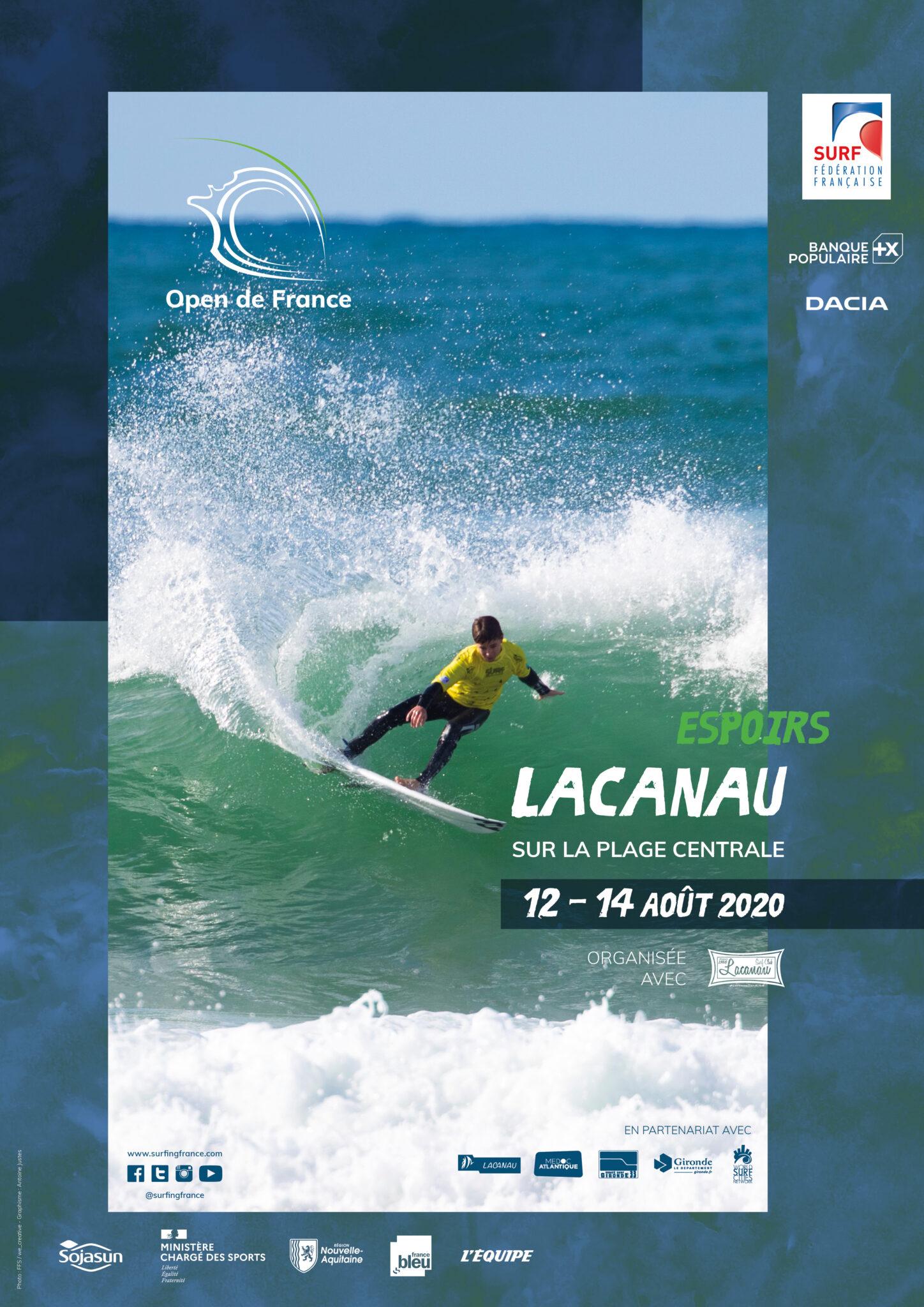 Affiche de l'Open de France Espoirs.
